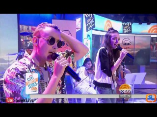 gnash ft. Olivia O'Brien - i hate u, i love u | LIVE Today Show 2016 September 19