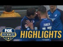 Mark Uth scores with perfectly placed shot   2016-17 Bundesliga Highlights