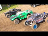 RC ADVENTURES - BiG DiRTY 2016 - PT 2 - HPI BAJA 2WD Qualify Highlight Reel - Dual Group Race Action
