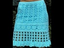 УЗОР КРЮЧКОМ для ЮБКИ 2018 CROCHET PATTERN SKIRT for Häkelmuster SKIRT für