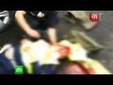 Нападение на пост ДПС в Подмосковье попало на видео