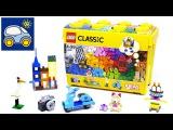 Lego Classic 10698 — как Илья и Картонка готовились встречать с Лего Новый год. Картонка