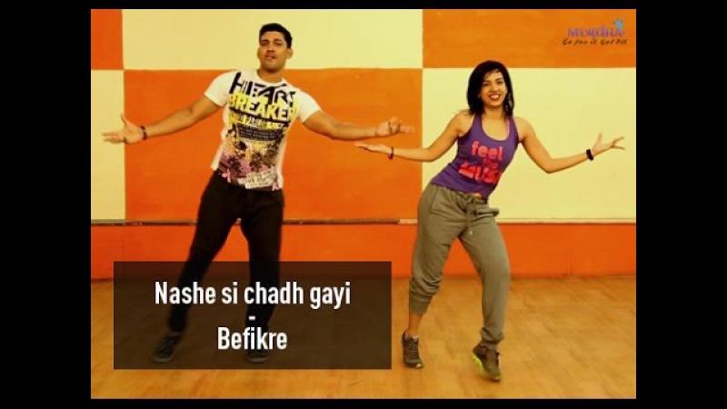 Nashe Si Chadh Gayi   Befikre   Zumba(R)   Dance   Choreo By Mugdha   Ranveer Singh, Vaani Kapoor