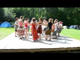 болгарские  танцы на фестивале