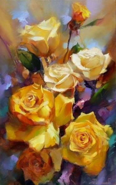 гифки розы красные