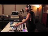 PLUDO - HYPERSENSITIVE (M audio Code + Electronic Drum kit + Launchpad + novation mini nova) - YouTube