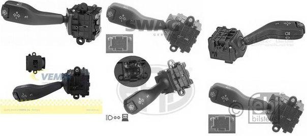 Мигающий указатель; Выключатель на колонке рулевого управления для BMW Z4 купе (E86)