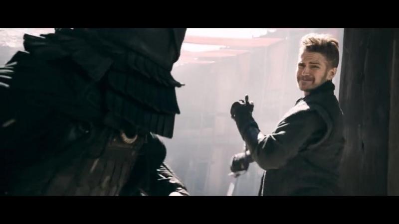 В изгнании (2014). Схватка Джекоба с воинами Шинга