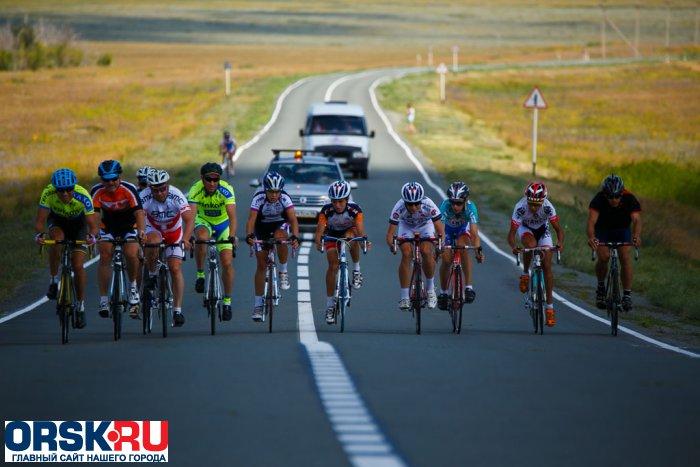 Отчет о проведении Открытого первенства Оренбургской области по велоспорту-шоссе и первенство города Орска