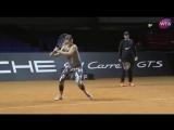 Мария Шарапова вернулась в большой теннис. Первая официальная тренировка на арене турнира в Штутгарте. 26.04.2017