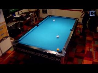 Трюки на бильярдном столе