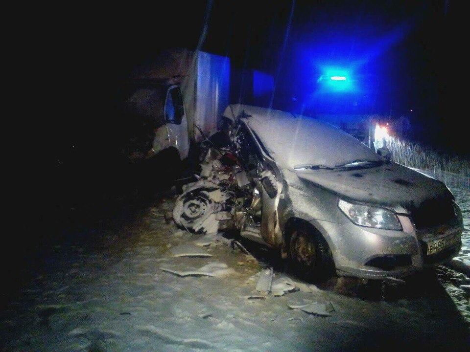 23-летняя девушка погибла влобовом ДТП вНижегородской области