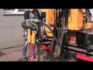 ORTECO BICAROT - QUADRICAROT - Навесная гидравлическая установка для сверления под анкер.