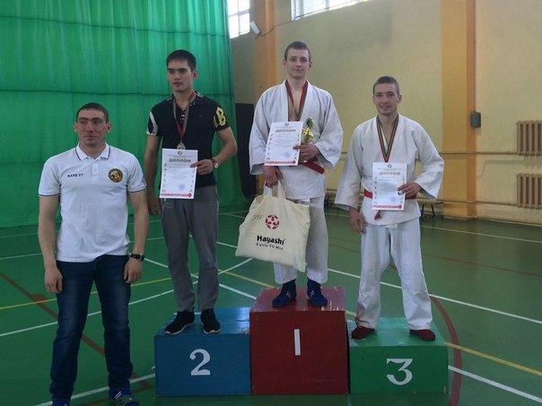 Спортсмен из Чистополя победил в республиканском чемпионате по армейскому рукопашному бою
