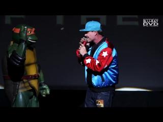 Teenage Mutant Ninja Turtles 2 (2016) ↑ Vanilla Ice Premiere Performance