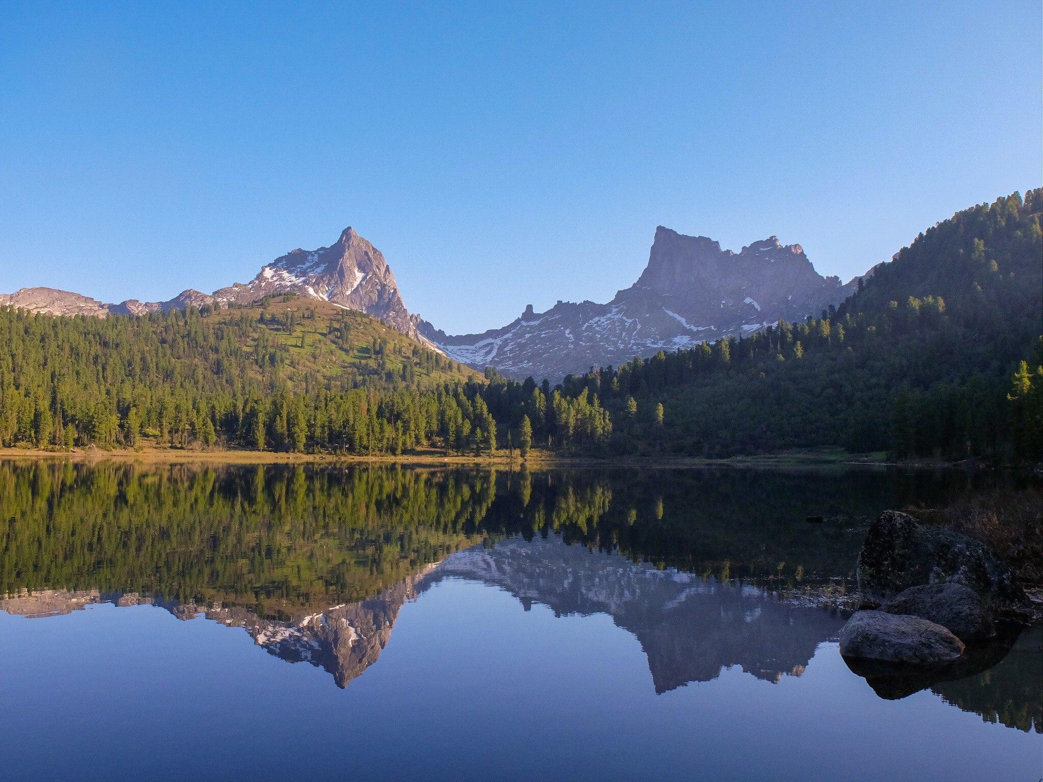 Озеро Саяны