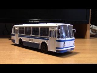 Масштабная модель автобуса ЛаЗ 695Н советский автобус