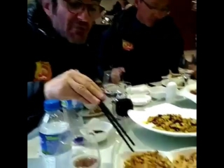 Обед по-китайски или чем Чиро Феррара питается в Китае?