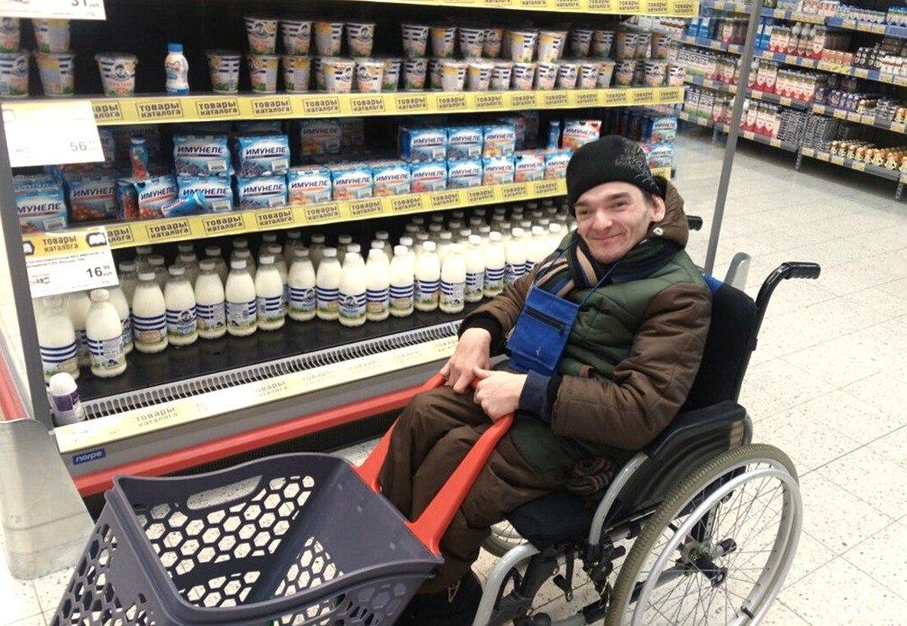 Кирилл в магазине