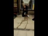 Girl Pissing on London Underground in Plaistow