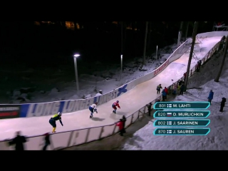 Red Bull Crashed Ice Finland - Juniors Final