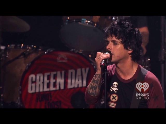 Green Day, выступление на iHeartRadio в 2012 на русском HD 18 [Много мата]