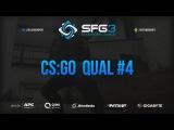 SFG Champions League 3  CSGO  QUAL #4  BeastTeam vs. .Adept