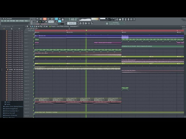Teramite Moonfall FL Studio 12 Playthrough