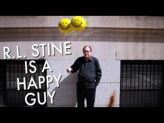 R.L. Stine Is A Happy Guy