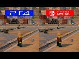 Lego City Undercover | Switch VS PS4 | GRAPHICS COMPARISON | Comparativa