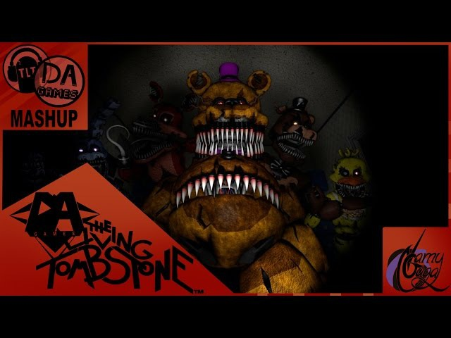 FNAF 4 BREAK MY TIME MASHUP ORIGINAL (TLT DAGames) MUSIC VIDEO