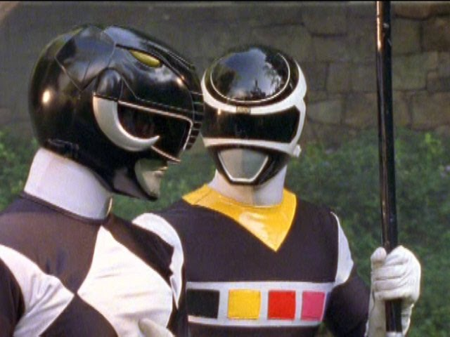 Power Rangers in Space - Adam / Black Ranger (Johnny Yong Bosch).