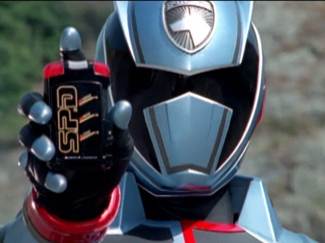 Power Rangers S.P.D. - Shadow Ranger's First Morph and Fight