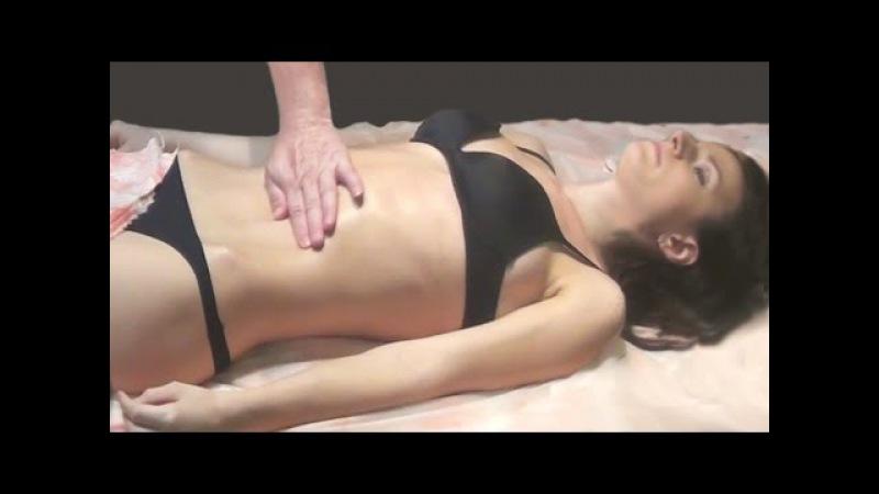 Лимфодренажный массаж передней части тела. Техника и методика лимфодренажного массажа