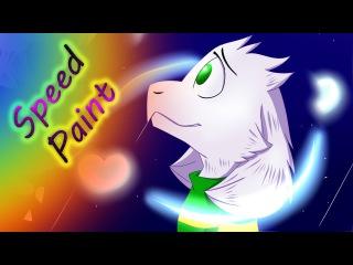 Speed Paint - Asriel