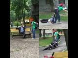 Мужской Поступок - Как поступать с пьяными на Детских Площадках.