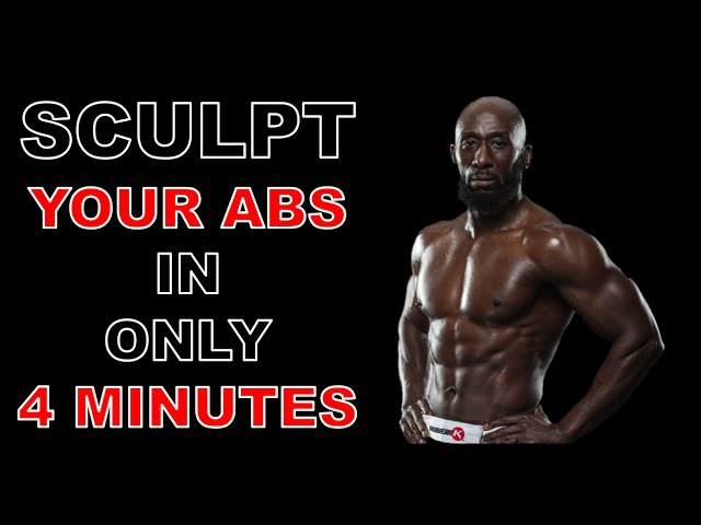 Tabata Workout - Sculpt Your Abs in 4 Minutes