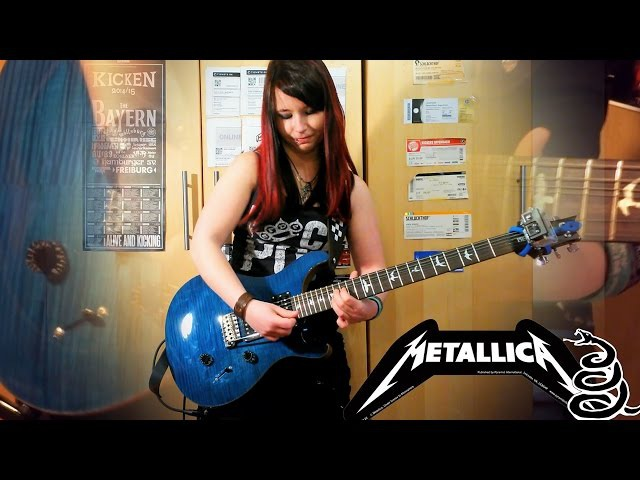 METALLICA Enter Sandman GUITAR COVER with SOLO by Jassy J