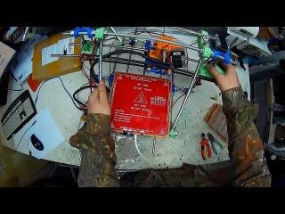 3D принтер Prusa Mendel i2 29 Попытка выставить ось Х