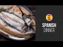 Salt Crusted Sea Bass Around the World Spanish Dinner Gastrolab