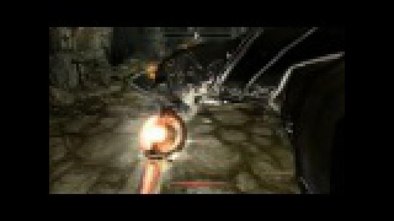 Skyrim Зал Гейрмунда, Комбинация камней, рычаги, прохождение Запретная легенда Смешная озвучка.