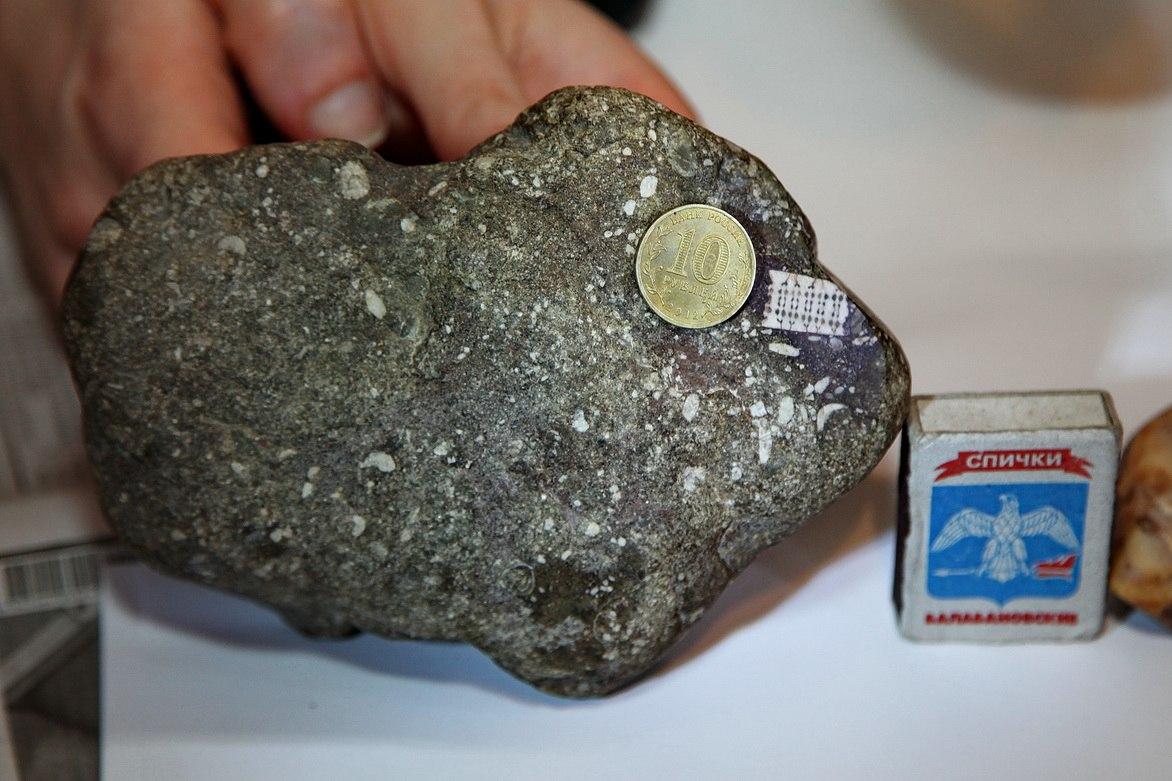 камень с микрочипом