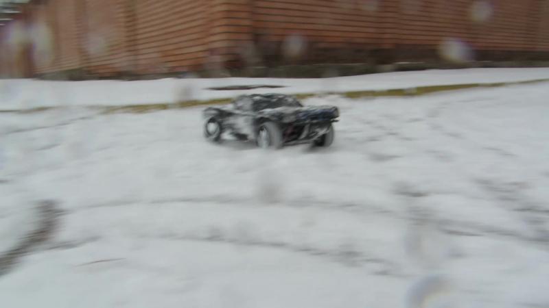 Turnigy Trooper winter ride