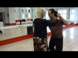 Juan Alba (BA) y Elvira Malishevskaya (SPb) - tango-vals 1
