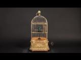 Игрушка-автомат «Птица в клетке»  на экспозиции «Екатерина II. Золотой век Российской империи»