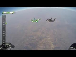 Прыжок без парашюта с высоты 7.62 километра