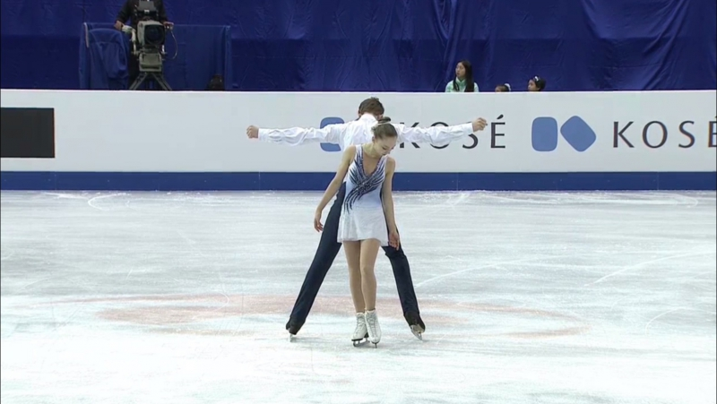 World Junior Championships 2017. Junior Pairs - FР. Aleksandra BOIKOVA / Dmitrii KOZLOVSKII