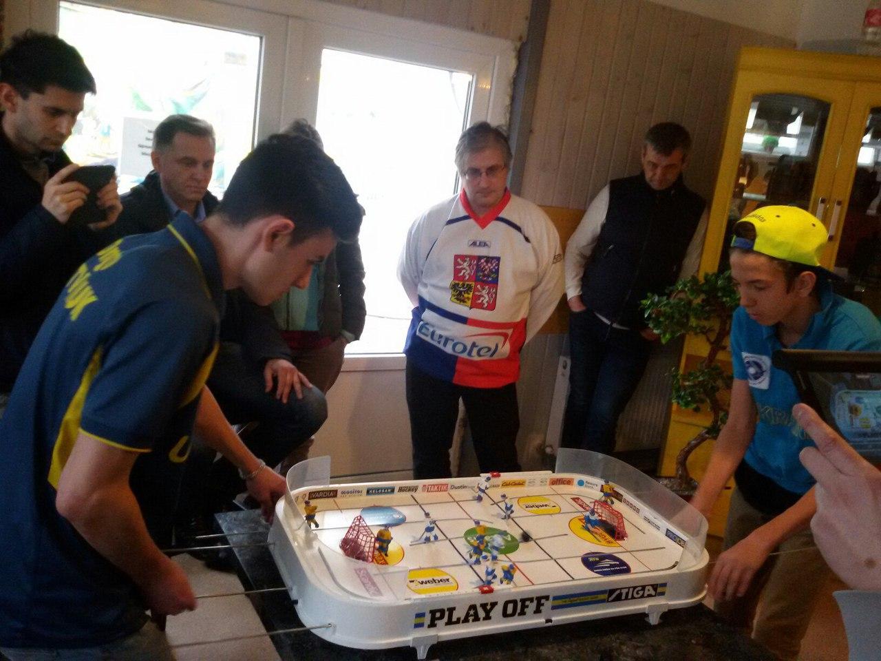 Відбувся п'ятий етап відкритого чемпіонату України з настільного хокею
