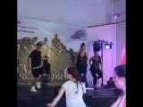Мастер класс с Полина Тарасова и Саша Чечнев.   REEBOK и Ночь фитнесса 2016