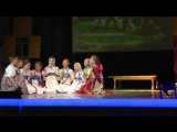 Русские народные танцы, песни, гармонь, игры, обряды, национальный костюм. 1 час